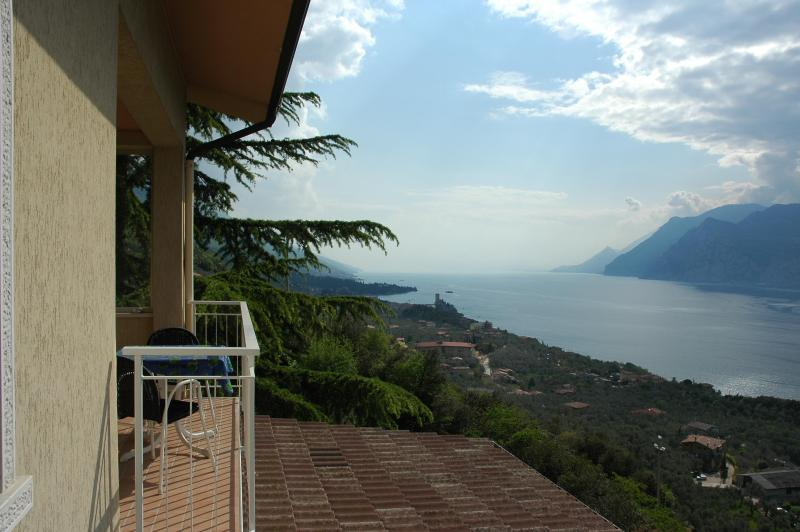 Lake view from the balcony - Apartment Casa Prea one bedroom - Malcesine - rentals