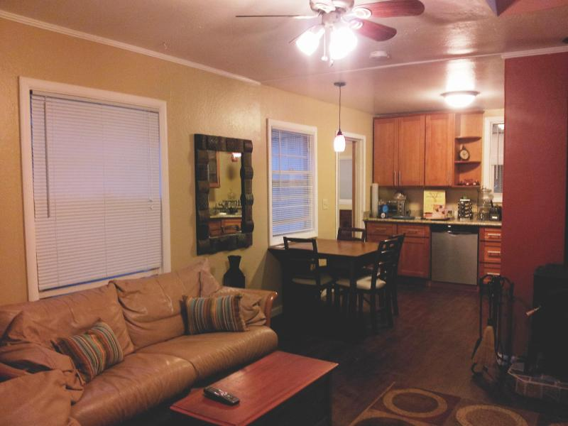 Living room/kitchen - Russian River Paradise - Guerneville - rentals