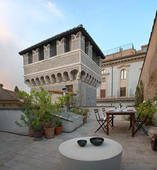 Terrace in Rome! La Torre, an extraordinary experience in a Medieval tower in Historical Center of Rome. - Image 1 - Rome - rentals