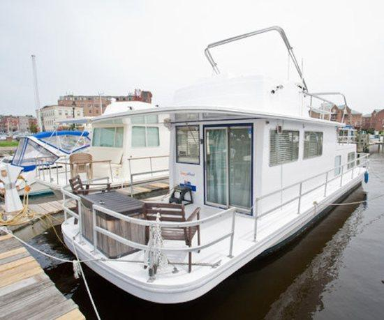 Houseboat Draco: Budget Friendly On Water Rental Near Inner Harbor! - Image 1 - Baltimore - rentals