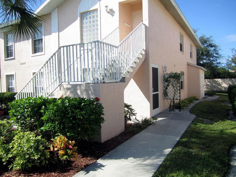 Front view - *Fully furnished first floor Bonita Springs condo* - Bonita Springs - rentals