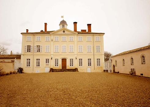 The property's main entrance - Laye Castle in Beaujolais - Burgundy - rentals