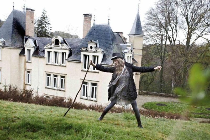 South face - Chateau de Bonnevaux - Villeneuve-de-Marc - rentals