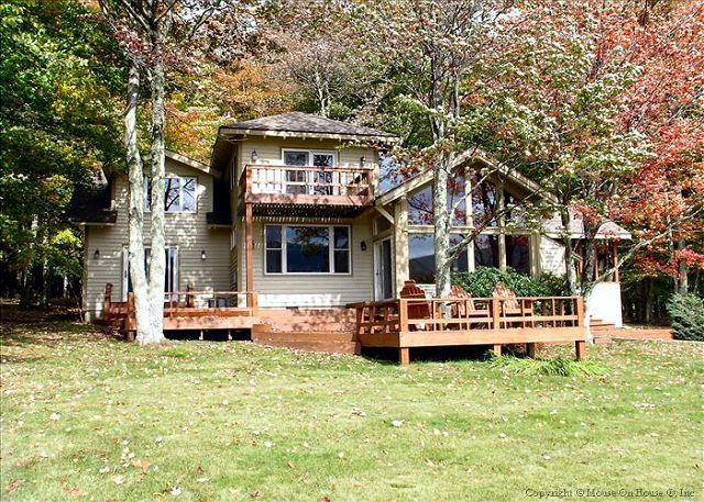 Amazing house in an incredible location provides great views and lake access! - Image 1 - Davis - rentals