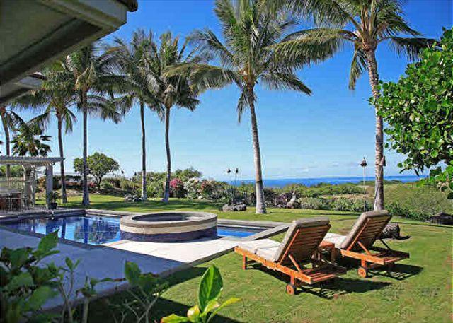 Exterior - Tranquil Mauna Kea Home, Fabulous Ocean View and Pool, 1/1 Ohana may be added - Kamuela - rentals