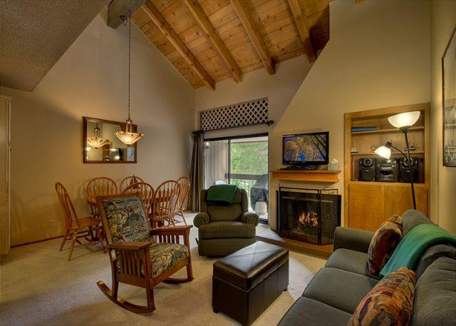 Living Area - Winter - Midweek Rates Reduced 50% Non-Holiday - Carnelian Bay - rentals