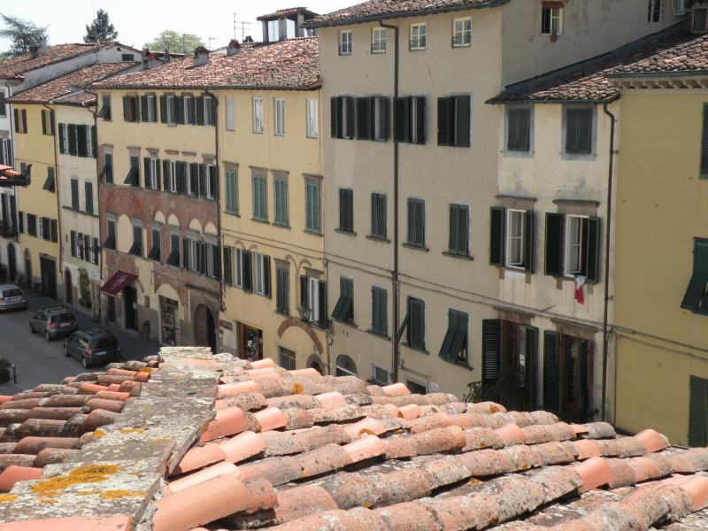 view over the rooftops - Simonella - Lucca - rentals
