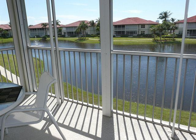 View from Balcony - 265 Villas at Waterside, Unit 201 - Marco Island - rentals