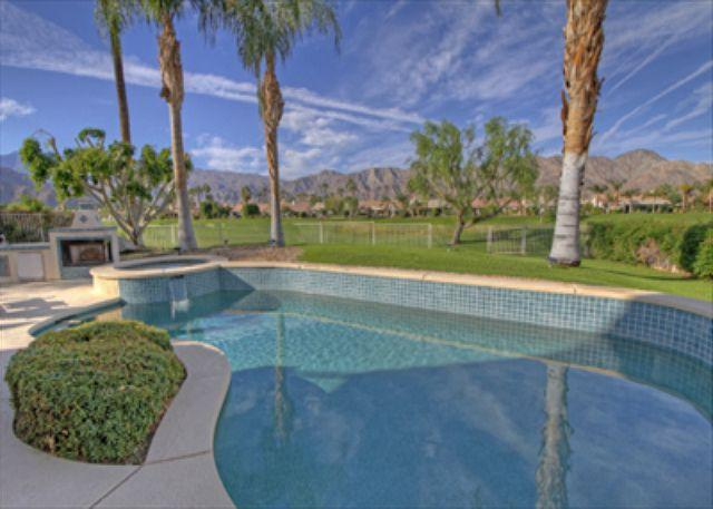 Pool View - 4 bedroom Pool Home with wonder views of the Mountains & Golf Course - La Quinta - rentals