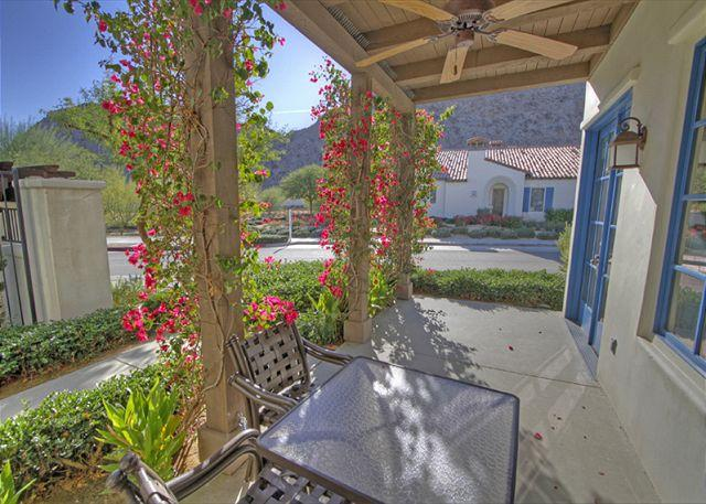 Patio View - Wonderful 3 Bedroom Downstairs Villa just steps from the Resort Style Pool - La Quinta - rentals