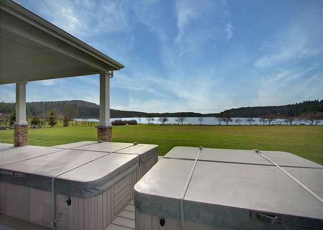 Incredible and Elegant Waterfront Estate - Truly One of a Kind! - (Seascapes) - Image 1 - San Juan Island - rentals
