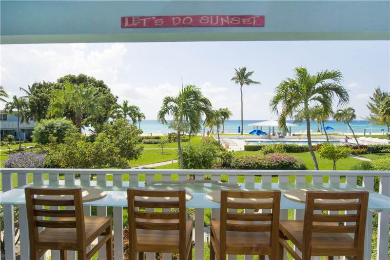 SILVER SANDS CONDOS-24 CLASSY WITH DIRECT SEA VIEW - Image 1 - Seven Mile Beach - rentals