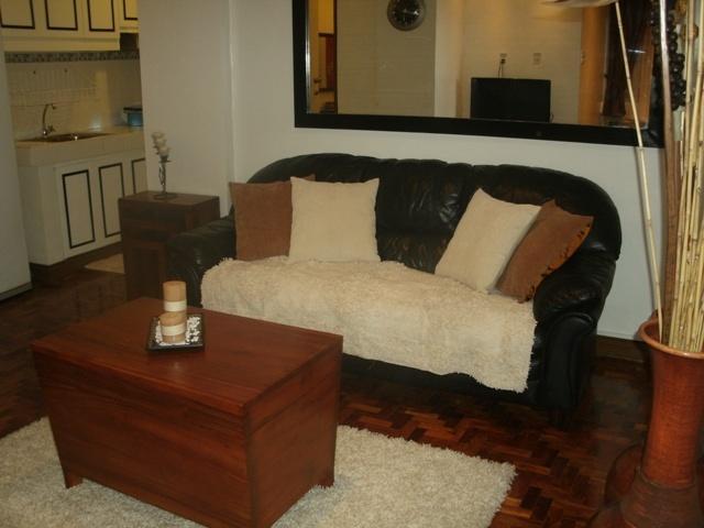 Living Room - Makati Pasong Tamo Tower 1 Bedroom - Makati - rentals