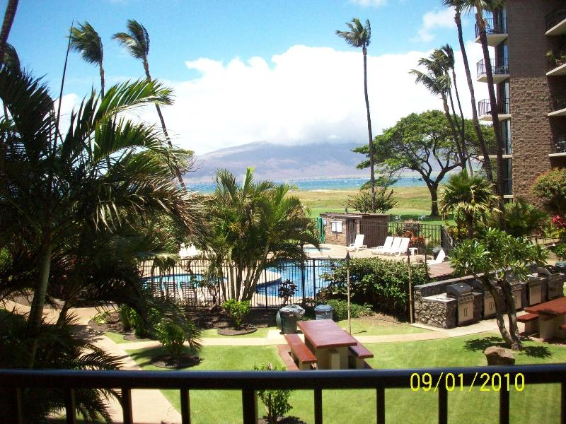 View from lanai - VILLAGE BY THE SEA! VIEWS & $$ SPECIALS - Kihei - rentals