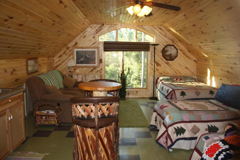Front view - WATERS EDGE TREE HOUSE INN LOFT - Squaw Lake - rentals