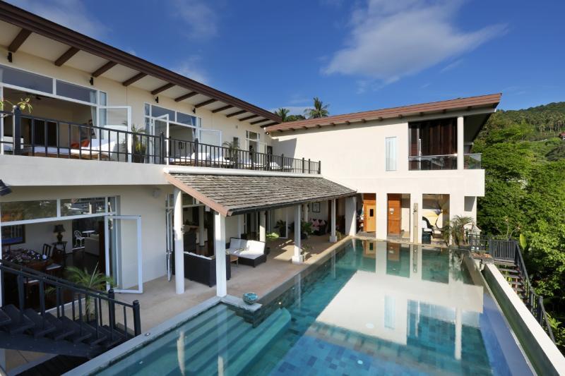 Villa Amanzi - Beachfront Villa Kata Beach Phuket - Image 1 - Kata Noi Beach - rentals