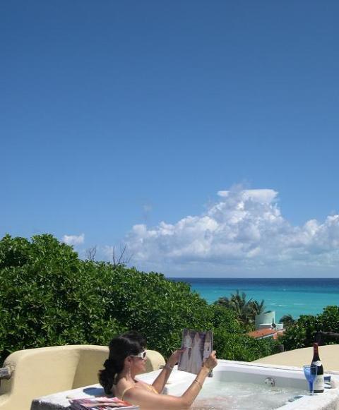 rooftop jacuzzi. - Villa  Kiin - Playa del Carmen - rentals