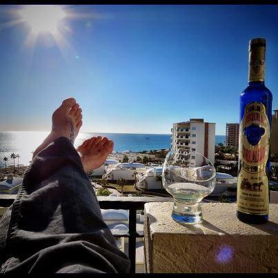 Relaxing on the patio - Relaxing Oceanfront Getaway on the Sea of Cortez - Puerto Penasco - rentals
