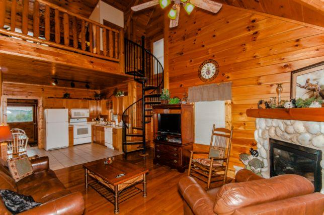 837-cabinette-HR-6123 - Golfview Resort - 837A BEAR FOOTIN' - Pigeon Forge - rentals