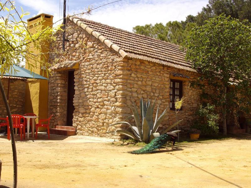 Facha de la casa - Casa rural en centro geográfico de Andalucia - Antequera - rentals