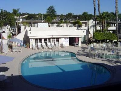 Our first floor unit has a patio that has a pool view! - Weekly rental at Solana Beach Resort!  Just reduced! - Solana Beach - rentals