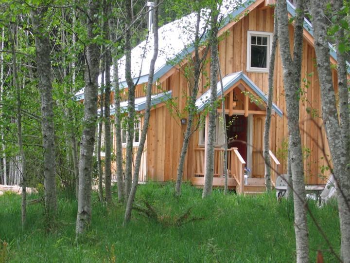 Look through the alders - Lost & Found Guest House - Salt Spring Island - rentals