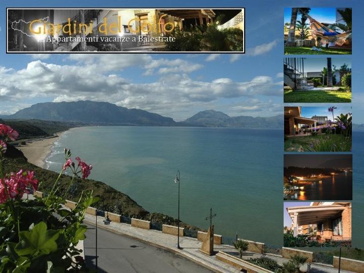 Panoramica - Giardini del Golfo - Balestrate - rentals
