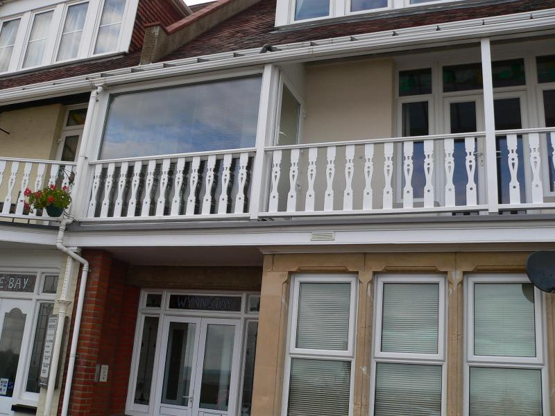 Front of Wynnstay (Balcony is part of the owners accommodation) - Wynnstay Self Catering Studio Apartments - Southend-on-Sea - rentals