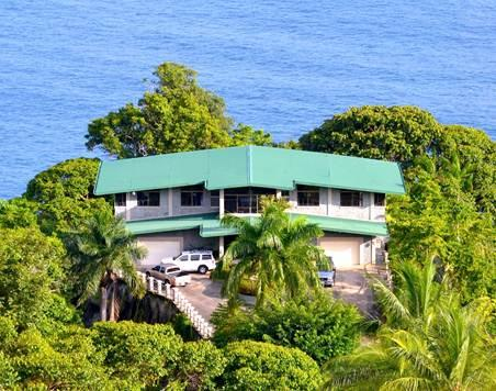 Luxury home in Dominical with incredible ocean views - What a View! Crashing Surf Below... - Dominical - rentals