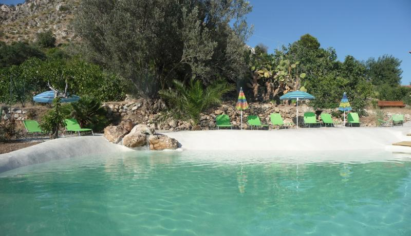 Swimming pool - Elegant holidaysuite Zibibbo with pool and garden - Bagheria - rentals