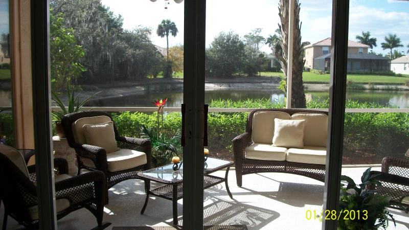 Lanai - Moody River Estates SWFL - North Fort Myers - rentals