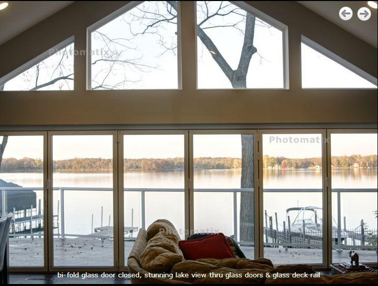 Giant door opens 20 ft wide with no posts and no glass! - Luxury Home Lake Minnetonka Closest Bay to Mpls - Minnetonka - rentals