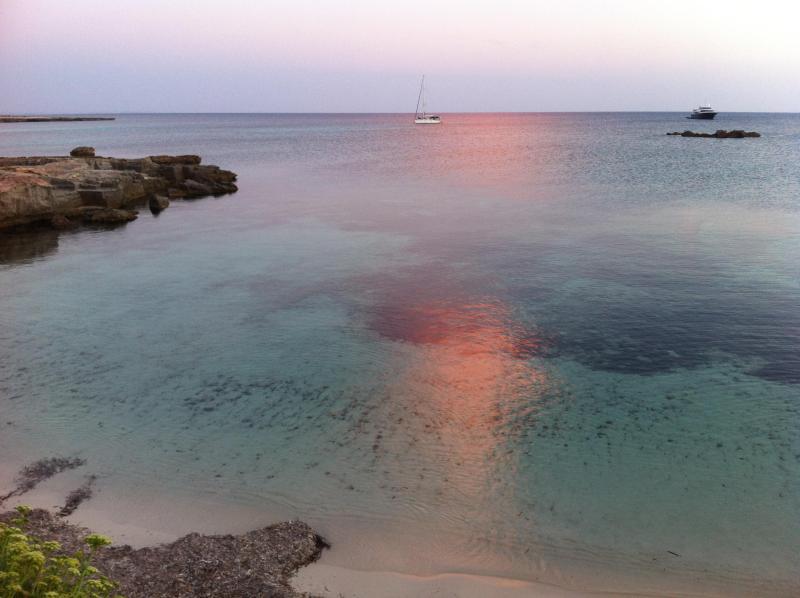 FAVIGNANA - dreamy calamoni beach / 10 minutes walking - FAVIGNANA MEDITERRANEAN DREAMY COTTAGE - Favignana - rentals