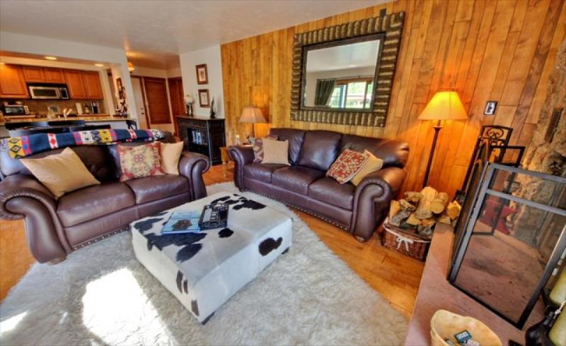Upscale condo on shuttle route to Vail with shared pool - Image 1 - Silverthorne - rentals