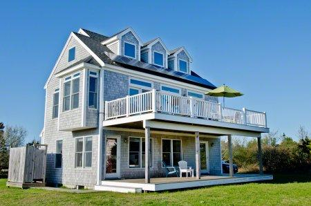 COASTAL CONTEMPORARY IN KATAMA WITH VIEWS - KAT BOCO-76 - Image 1 - Edgartown - rentals