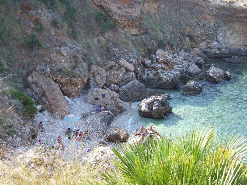spiaggia cala rossa - Appart. a 70 mt dalla spiaggia privata cala rossa - Scopello - rentals