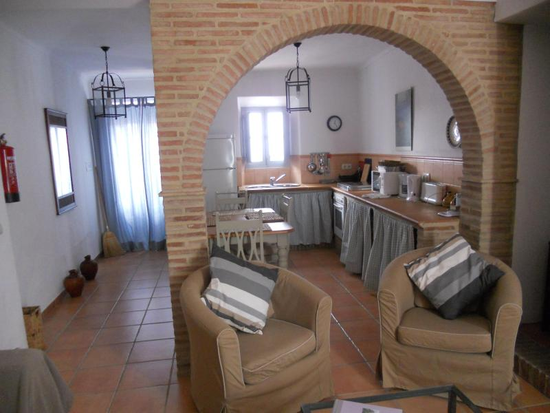 Dining Area - Village House with Stunning Mountain Views - Montejaque - rentals