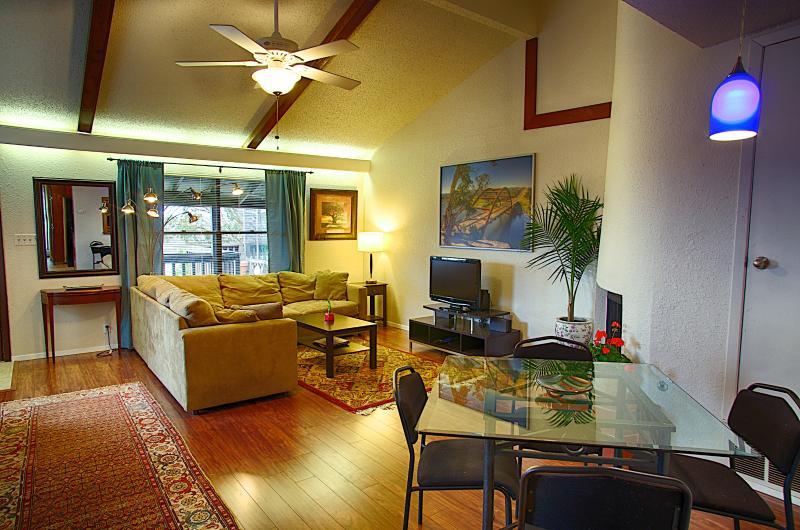 Living area - Barton Hills Abode 2/2 - Austin - rentals