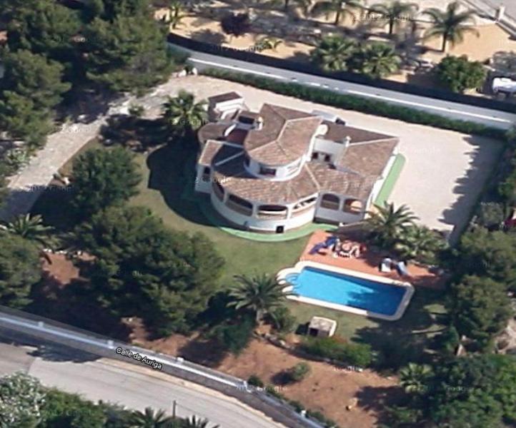 Aerial View of Villa and Garden - Villa Punta Alta - Javea - rentals