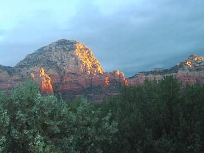 Sunrise over the guest cottage - Sedona Guest Cottage - Sedona - rentals
