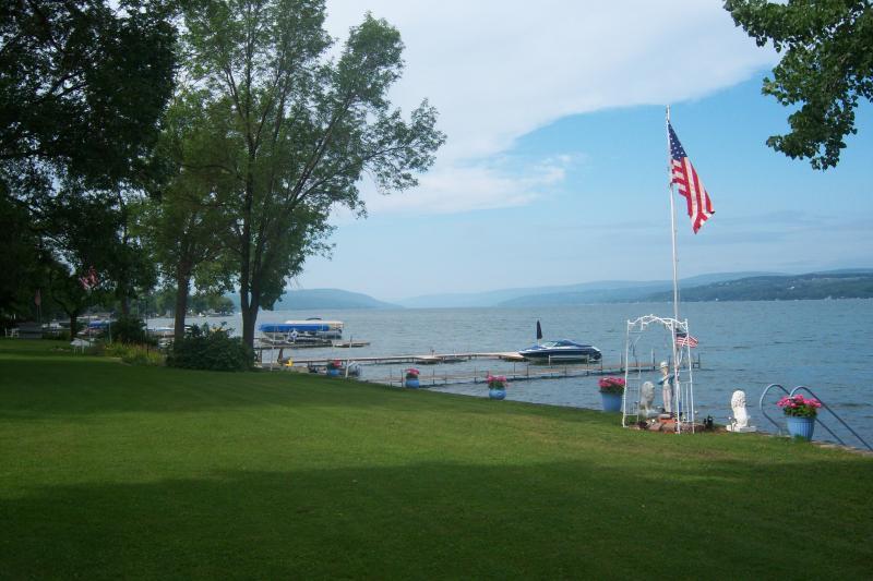 Beautiful View of Canandaigua Lake - CANANDAIGUA LAKE, Canandaigua NY  Cottage Rental - Canandaigua Lake - rentals