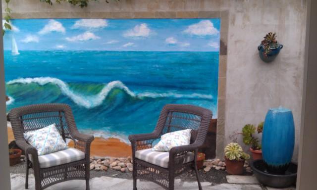 garden patio - The Cambria Sea Star -B&B with a private garden  and ocean view - Cambria - rentals