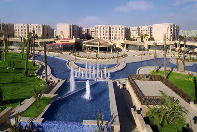 open food court area - Al Rehab City Apartment - Cairo - rentals