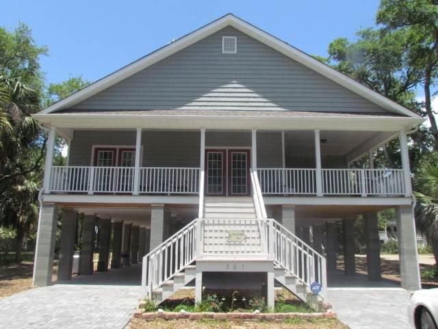 "501 Jungle Rd - ""Paradise Too"" - Image 1 - Edisto Beach - rentals"