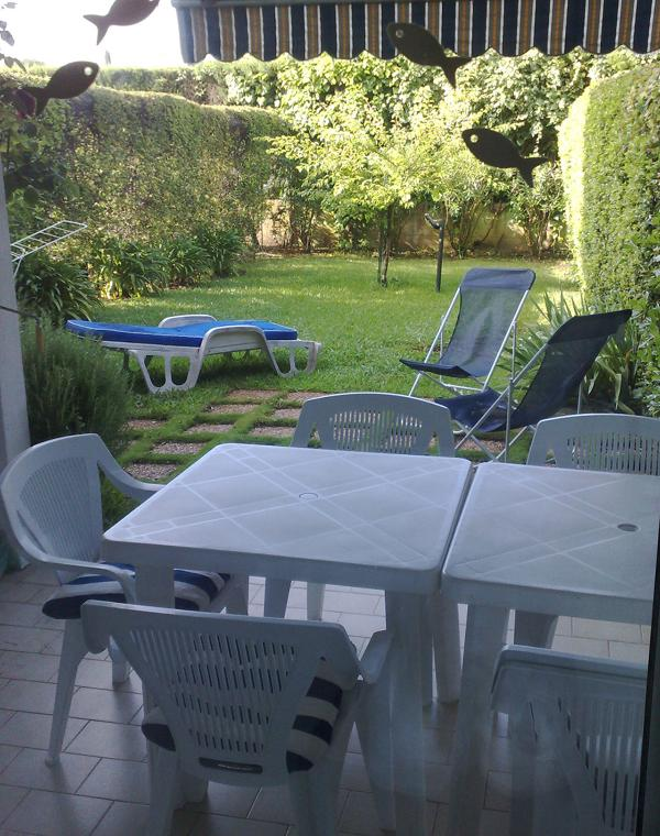 garden - Pet-Friendly Apartment with Garden in Juan les Pin - Juan-les-Pins - rentals