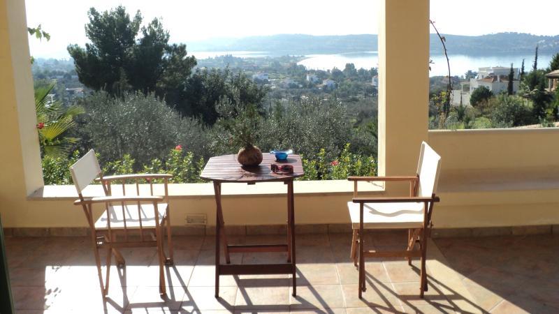 View from the balcony - Villa Artemis - Ermioni - rentals