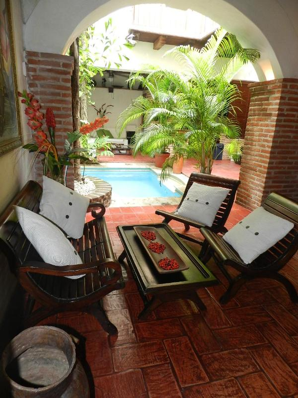 Entrance - Casa Encantada for rent in Cartagena de Indias - Cartagena - rentals
