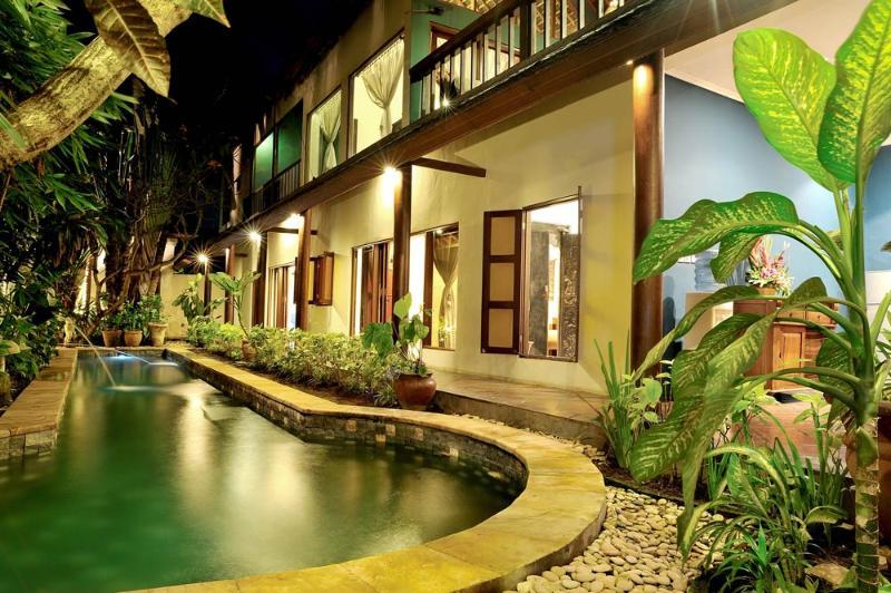 Pool view - Villa Catur Kembar, affordable villa in Seminyak - Seminyak - rentals