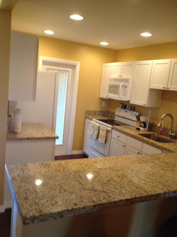 Kithen with Granite tops - Waterfront Condo newly renovated walkable to beach - Fort Lauderdale - rentals