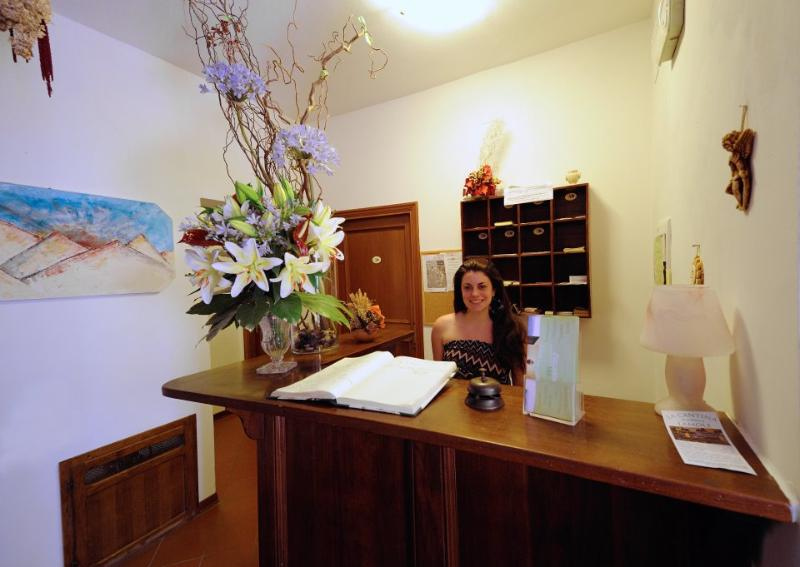Giulia at the reception - B&B La Piazzetta - Greve in Chianti - rentals